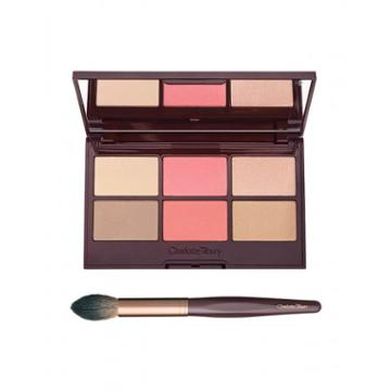 Charlotte Tilbury Glowing, Pretty Palette Kit Face Kit