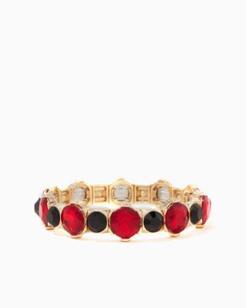 Charming Charlie Rovina Stone Stretch Bracelet