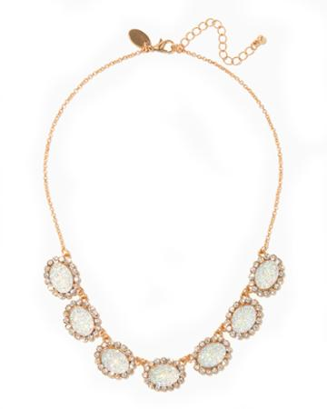 Charming Charlie Prisha Bib Necklace