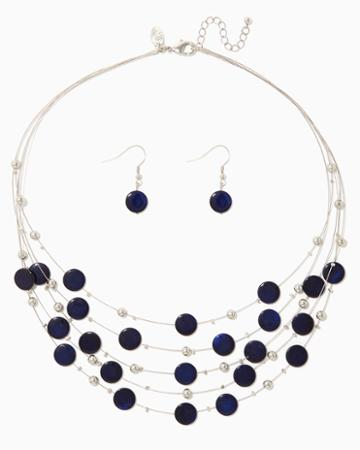Charming Charlie Makara Necklace Set