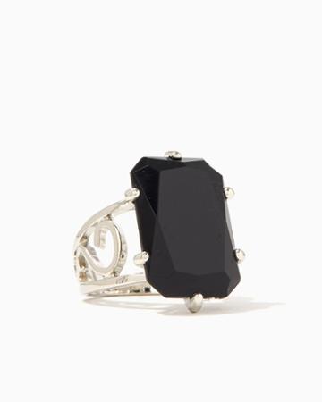 Charming Charlie Flourish Cocktail Ring
