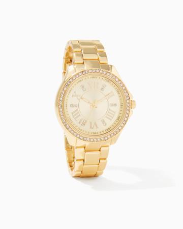 Charming Charlie Tempo Pav Bracelet Watch