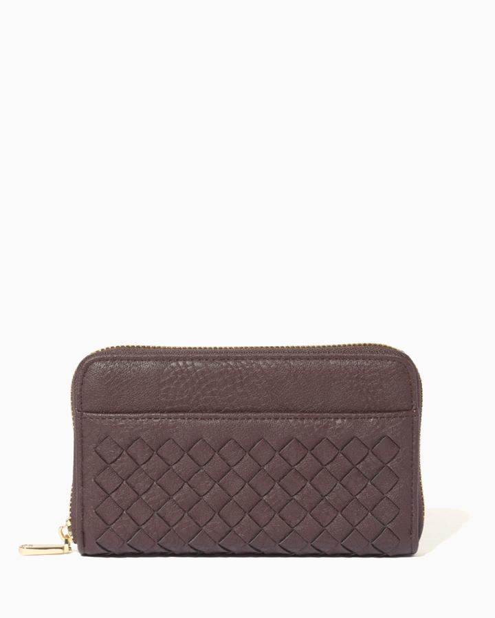 Charming Charlie Wild Woven Wallet