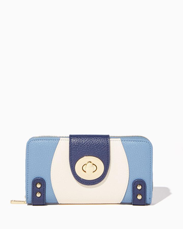 Charming Charlie Mod Turnlock Wallet