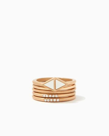 Charming Charlie Charla Stacked Ring Set