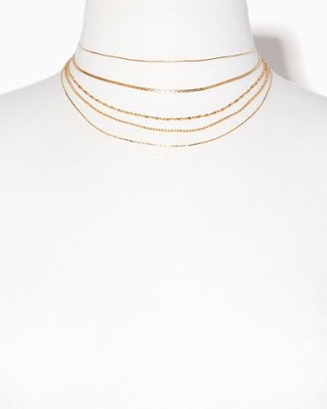 Charming Charlie Maren Chain Layered Necklace