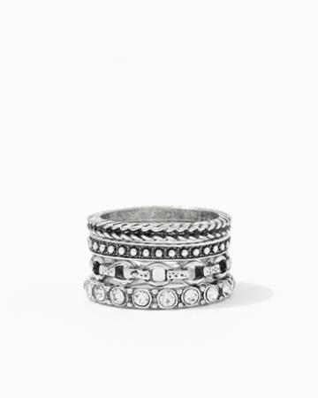 Charming Charlie Elmira Stacked Ring Set