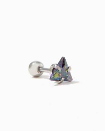 Charming Charlie Iridescent Triangle Cartilage Earring