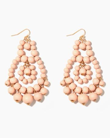 Charming Charlie Matte Bauble Chandelier Earrings
