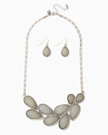 Charming Charlie Lena Bib Necklace
