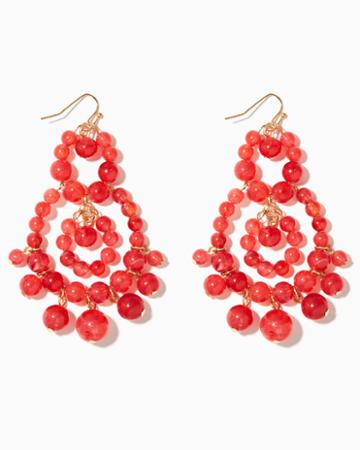 Charming Charlie Lina Bauble Chandelier Earrings