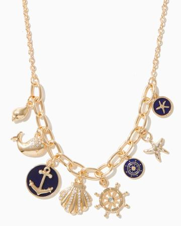 Charming Charlie Sea Charmed Necklace