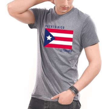 Charming Charlie Puerto Rico Strong Mens Tee