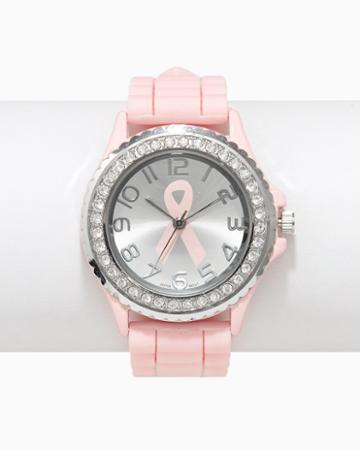 Charming Charlie Pav Breast Cancer Awareness Watch