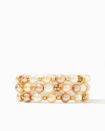 Charming Charlie Zingy Pearl Stretch Bracelet