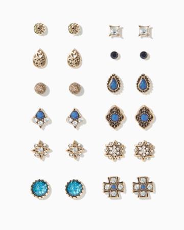 Charming Charlie Sahara Stud Earring Set