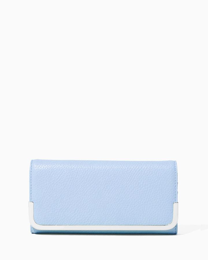 Charming Charlie Calli Pebble Wallet