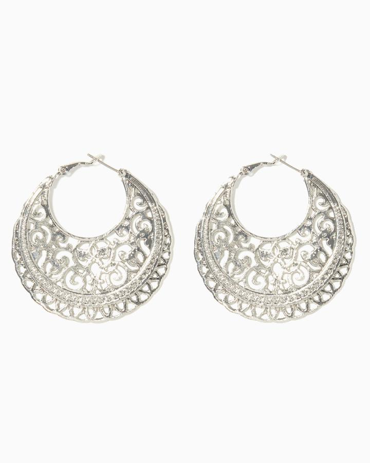 Charming Charlie Bohemia Filigree Earrings