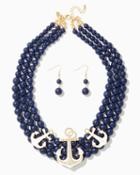 Charming Charlie Cabin Style Necklace Set