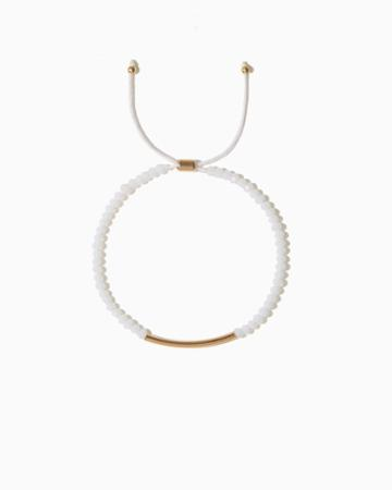 Charming Charlie Angie Beaded Slip & Pull Bracelet