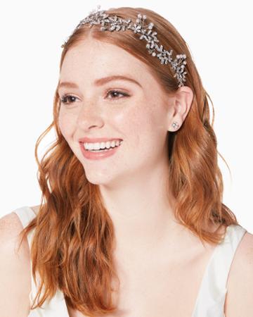 Charming Charlie Sarabeth Crystal & Faux Pearl Headband