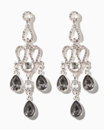 Charming Charlie Mariana Chandelier Earrings