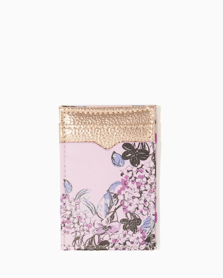 Charming Charlie Garland Floral Magic Wallet