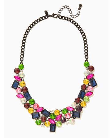Charming Charlie Cara Crystal Collar Necklace