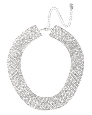 Charming Charlie Arielle Mesh Collar Necklace