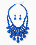 Charming Charlie Beaded Chic Bib Necklace Set