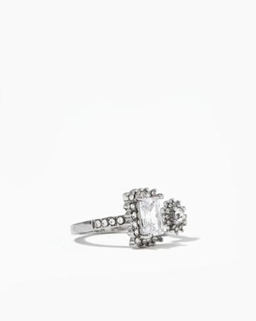 Charming Charlie Sun & Square Open Ring
