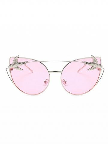 Choies Light Pink Cat Eye Sunglasses