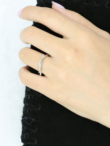 Choies Silver Twisted Ring