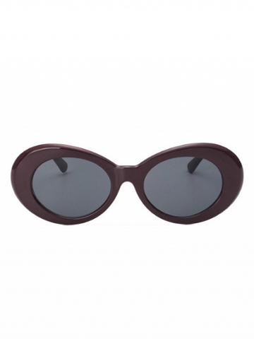 Choies Purple Round Frame Sunglasses