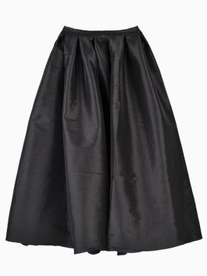 Choies Black Midi Skirt