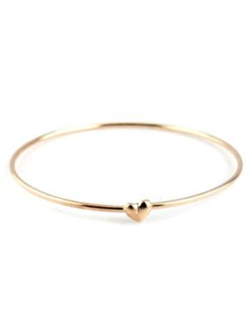 Choies Golden Heart Bracelet