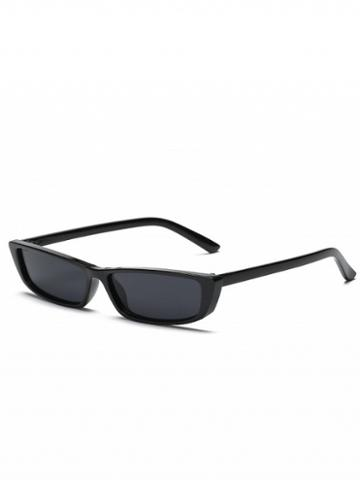 Choies Black Rectangle Sunglasses