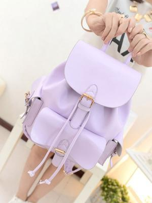 Choies Choies Lavender Preppy Style Backpack