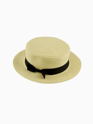 Choies Straw Boater Hat