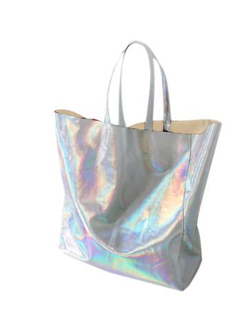 Choies Hologram Pu Shopper