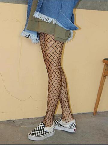 Choies Black Fishnet Tights