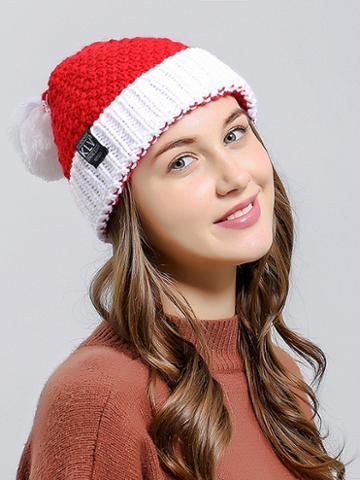 Choies Red Woolen Christmas Hat