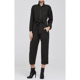 Citizens Of Humanity Natalia Jumpsuit In Black Forest
