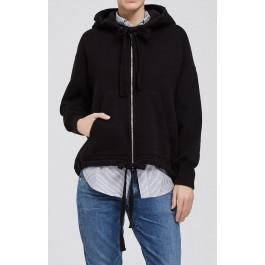 Citizens Of Humanity Harper Oversized Hoodie In Black