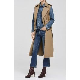 Citizens Of Humanity Sleeveless Trench In Beige