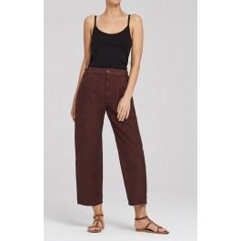 Citizens Of Humanity Kendall Wide Leg In Garnet