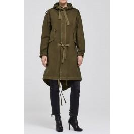 Citizens Of Humanity Camilla Oversized Parka In Army Green