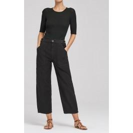 Citizens Of Humanity Kendall Wide Leg In Black Forest