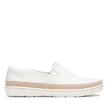 Clarks Marie Pearl - White - Womens 10