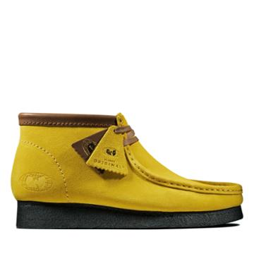 Clarks Wallabee Ww - Yellow Suede - Mens 13